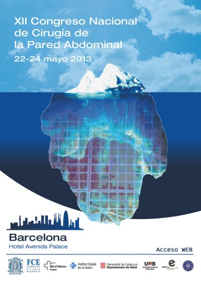 XII Congreso Nacional de Cirugía de Pared Abdominal en Barcelona (España)