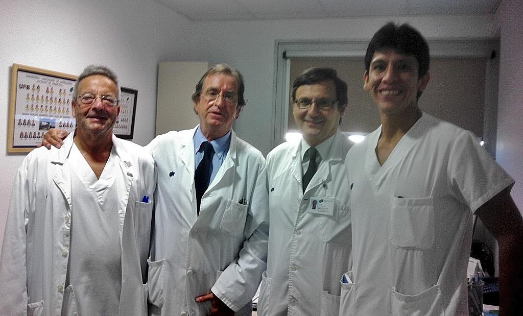Nueva unidad de cirug a de pared en el hospital for Salvador navarro
