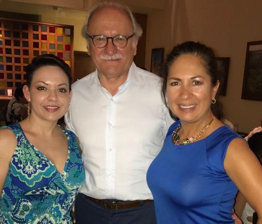 Dra. Venegas, Dr. Carbonell Tatay, Dra.Vega